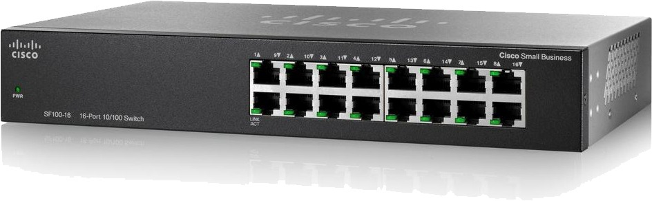 SWITCHES SF100-16-NA CISCO COLOMBIA - Servicios y Productos Colombia. Venta y Distribución